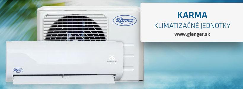 klimatizačné jednotky karma
