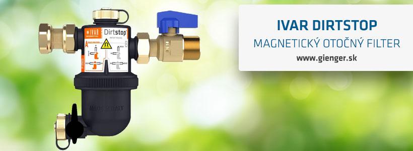 ivar magnetický otočný filter