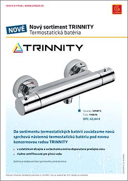 TRINNITY termostatická batéria