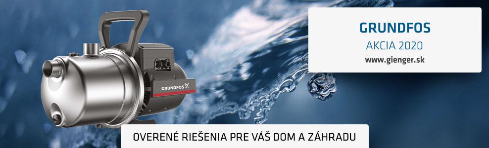GRUNDFOS AKCIA 2020