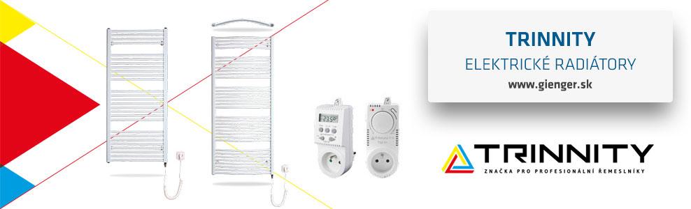 Elektrické radiátory TRINNITY